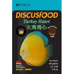 Turkey Heart Discus Food Soft (XL)