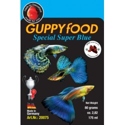 Guppy Food Super Blue