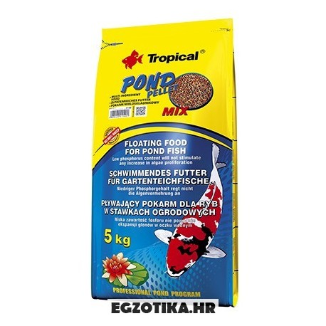 Tropical Pond Pellet Mix 5 kg - Egzotika hr