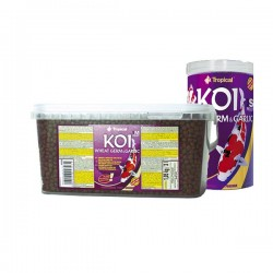 "Tropical Koi Wheat Germ&Garlic Pellets ""S"" 1000 ml"