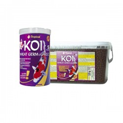 "Tropical Koi Wheat Germ&Garlic Pellets ""M"" 1000 ml"
