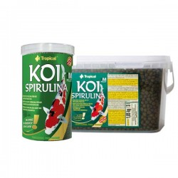 "Tropical Koi Spirulina Pellets ""M"""