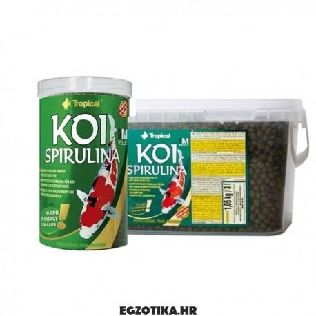 "Tropical Koi Spirulina Pellets ""M"""