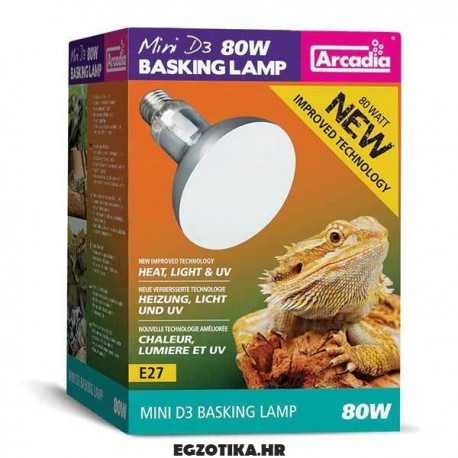 Arcadia D3 Basking Lamp
