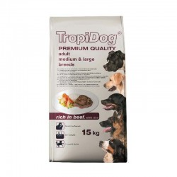 TropiDog Adult M&L govedina