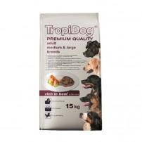 TropiDog Adult M&L janjetina 15 kg