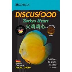 Turkey Heart Discus Food Soft (XL)