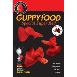 Guppy Food Super Red