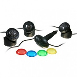 Pond Lighting 12 Volt LED - Set 3 - 3 x 1.5 W