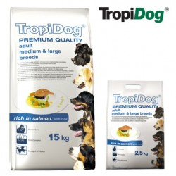 TropiDog Adult M&L Losos